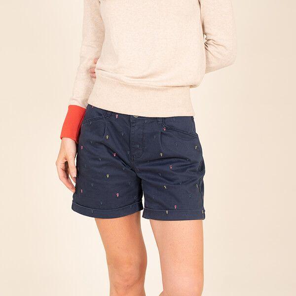 Brakeburn Embroidered Shorts