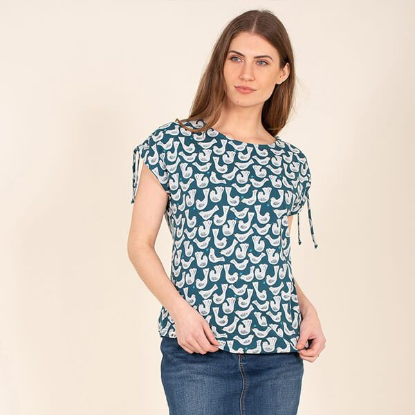 Brakeburn Geo Birds Top