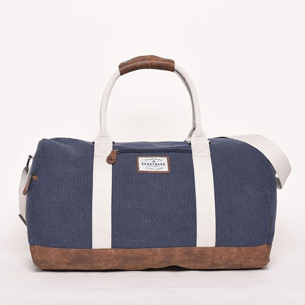 Brakeburn Navy Duffel Bag