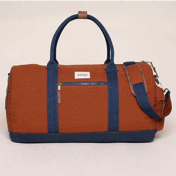 Brakeburn Orange Duffle Bag