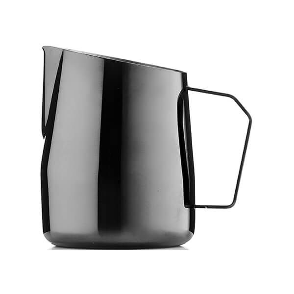 Barista & Co Beautifully Crafted Dial In Milk Pitcher Black Pearl 420ml