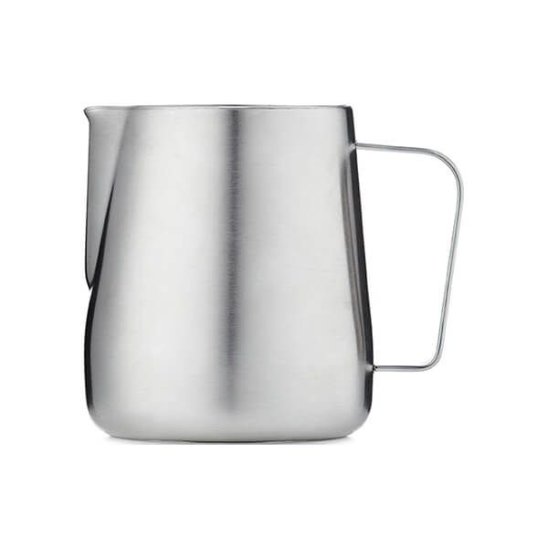 Barista & Co Beautifully Crafted Core Milk Jug Brushed Steel 420ml