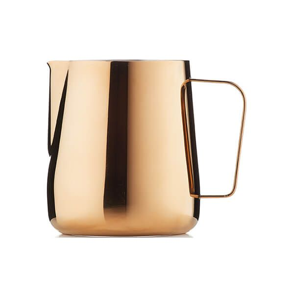 Barista & Co Beautifully Crafted Core Milk Jug Rose Brass 420ml