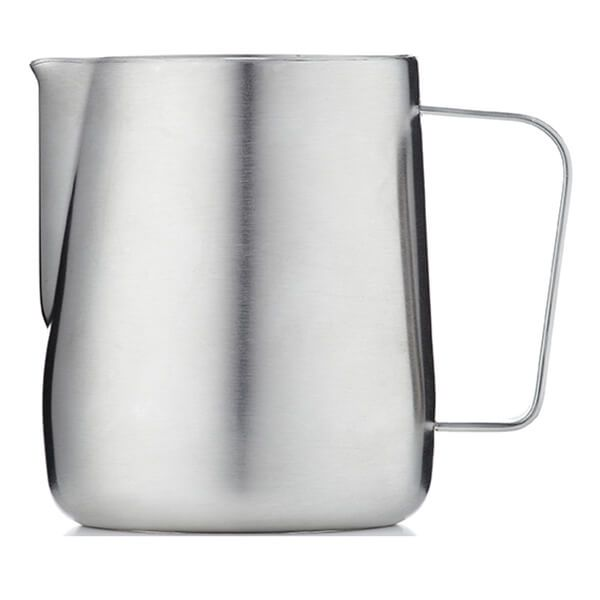 Barista & Co Beautifully Crafted Core Milk Jug Brushed Steel 600ml