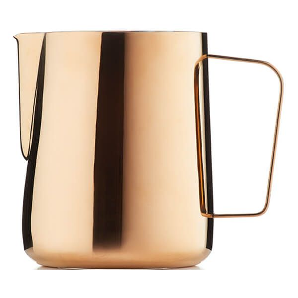 Barista & Co Beautifully Crafted Core Milk Jug Rose Brass 600ml
