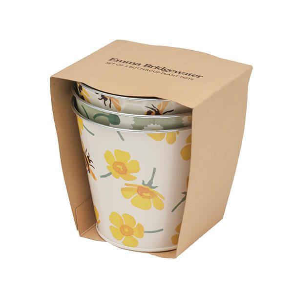 Emma Bridgewater Buttercup Set 3 Plant Pots