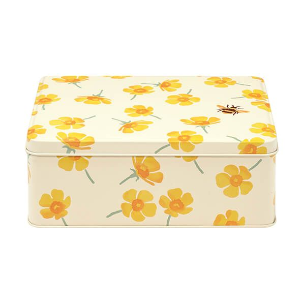 Emma Bridgewater Buttercup Deep Rectangular Storage Tin