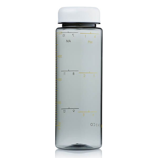 Barista & Co Made Simple Timer Measure Water Bottle White
