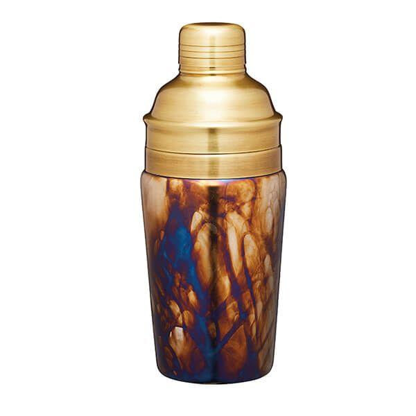 BarCraft Zinc Fired Glass Cocktail Shaker 700ml