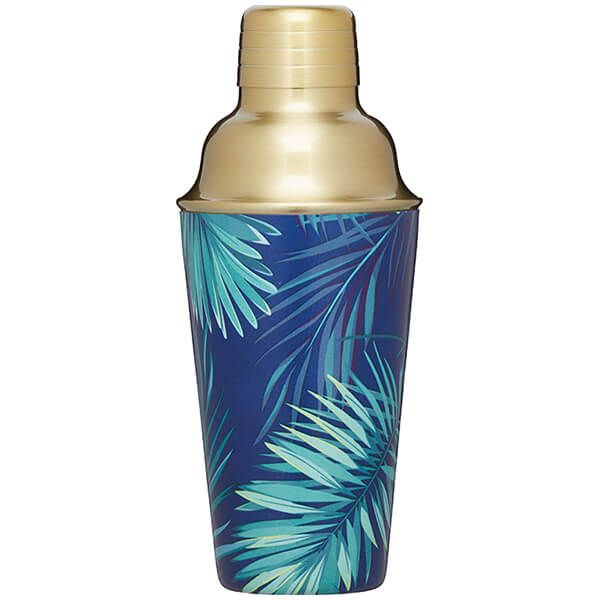 BarCraft Palm Print Cocktail Shaker 500ml