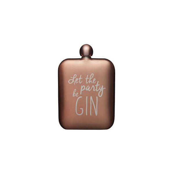 BarCraft 175ml Stainless Steel Pink Hip Flask