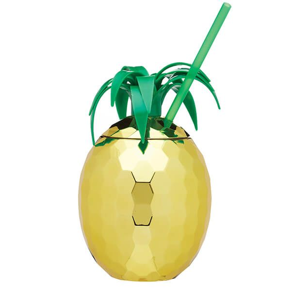 BarCraft Novelty Pineapple 850ml Drinks Jar