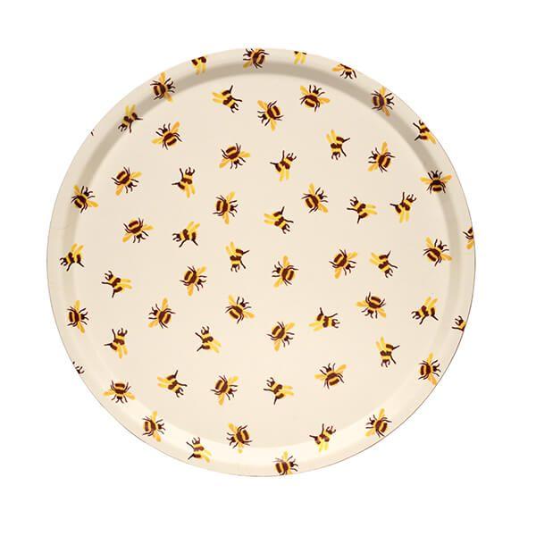 Emma Bridgewater Bumblebee Round Birch Tray