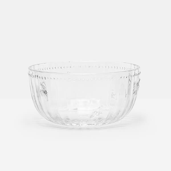 Joules Bees Glass Bowl