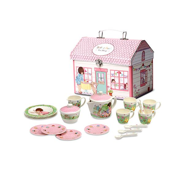 Belle & Boo Melamine Tea Set In House