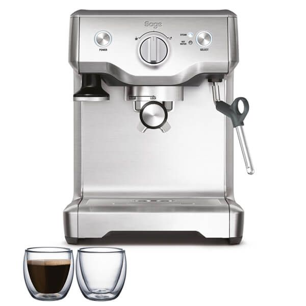 Sage The Duo Temp Pro Espresso Coffee Machine With FREE Gifts
