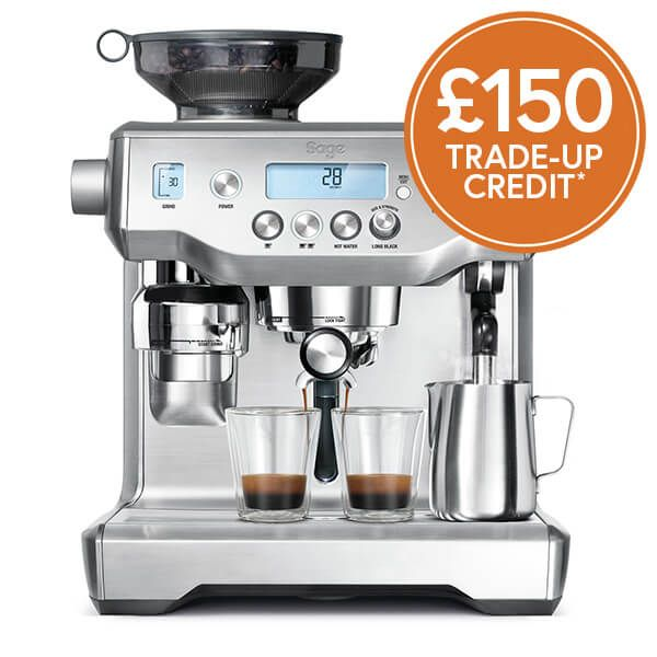 Sage The Oracle Coffee Machine with £150 Trade-Up Credit