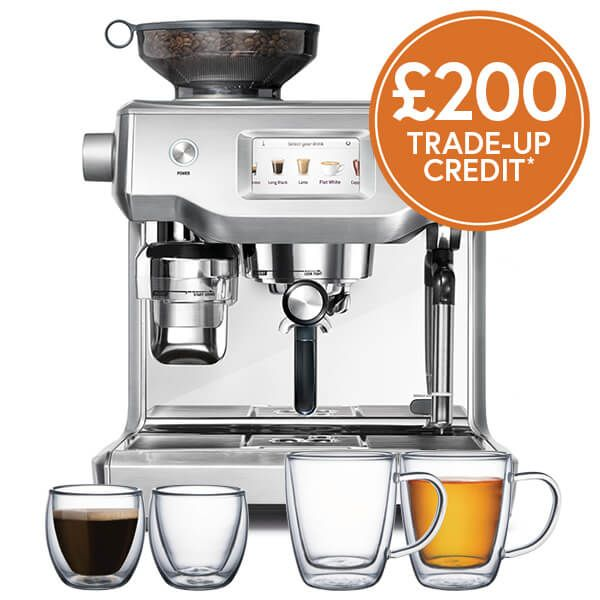 Sage The Oracle Touch Coffee Machine with £200 Trade-Up Credit and FREE Gifts