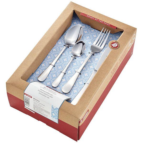 Judge Windsor 58 Piece Cutlery Set
