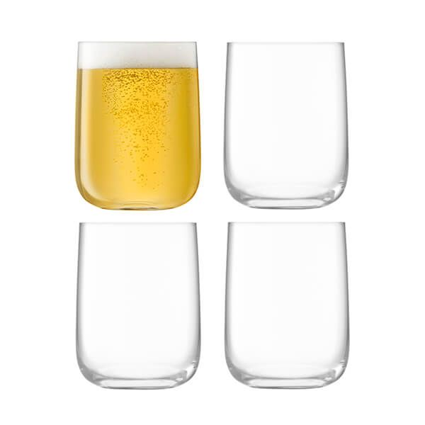 LSA Borough Bar Glass 625ml Set Of 4