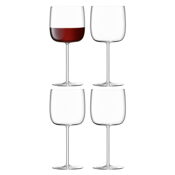LSA Borough Wine Glass 450ml Set Of 4