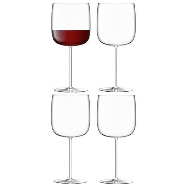 LSA Borough Grand Cru Glass 660ml Set Of 4