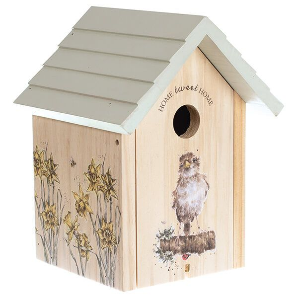 Wrendale Sparrow Bird House