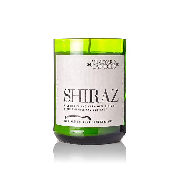 Vineyard Wine Bottle Shiraz Candle