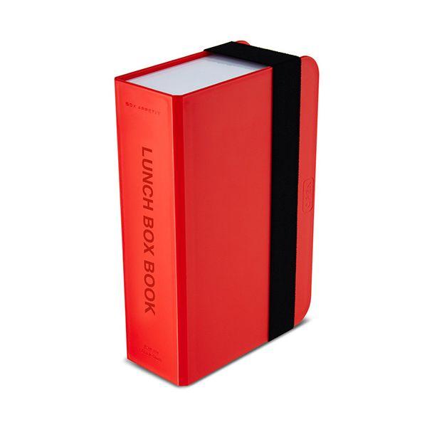 Black + Blum Red Lunch Box Book