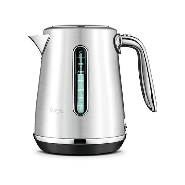 Sage The Soft Top Luxe Brushed Stainless Steel Kettle