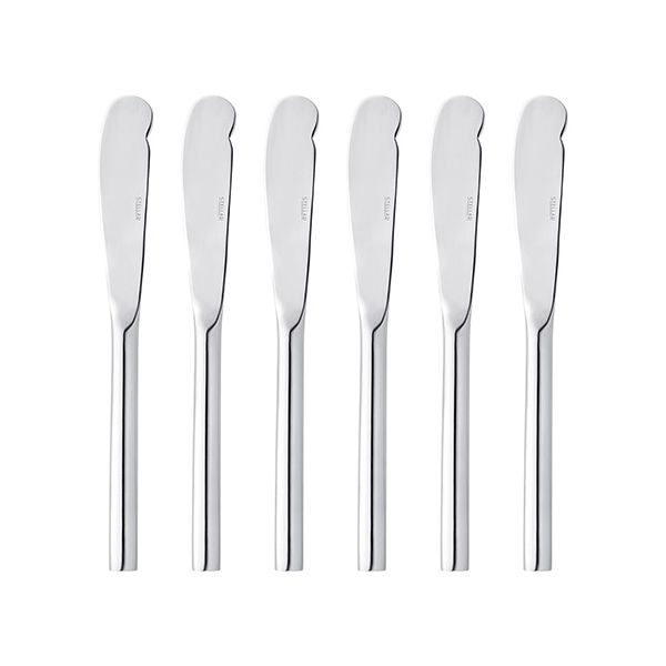 Stellar Rochester Polished 6 Butter Knives Gift Box Set