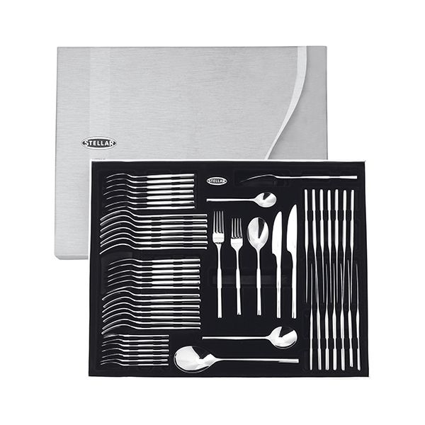 Stellar Rochester Polished 58 Piece Cutlery Gift Box Set