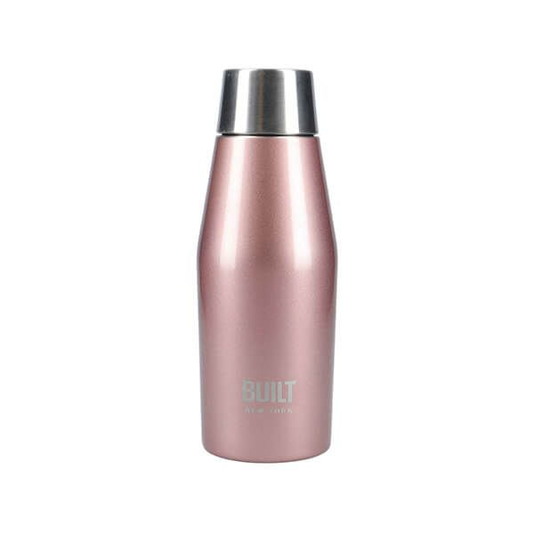 Built Apex 330ml Perfect Seal Water Bottle Rose Gold