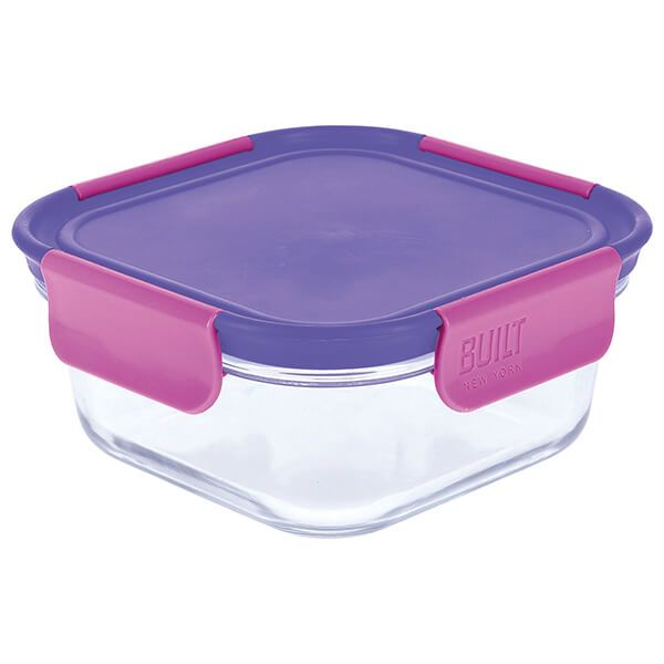 Built Active Glass 700ml Lunch Box