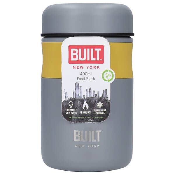 Built Stylist 490ml Food Flask
