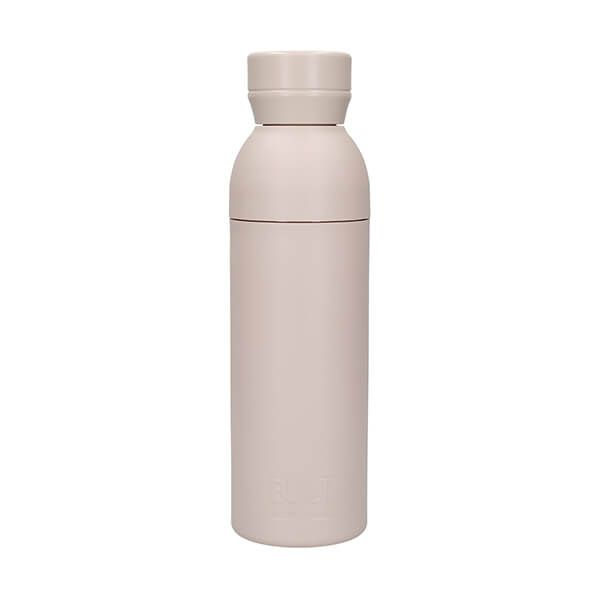 Built Planet 500ml Recycled Water Bottle Natural