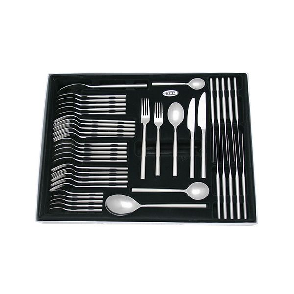 Stellar Rochester Matt 44 Piece Cutlery Gift Box Set