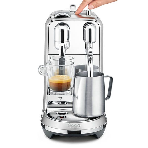 Sage Stainless Steel Creatista Plus Nespresso Coffee Machine
