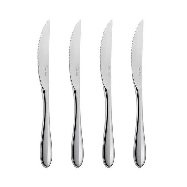 Robert Welch Bourton Bright Steak Knife 4 Piece Set