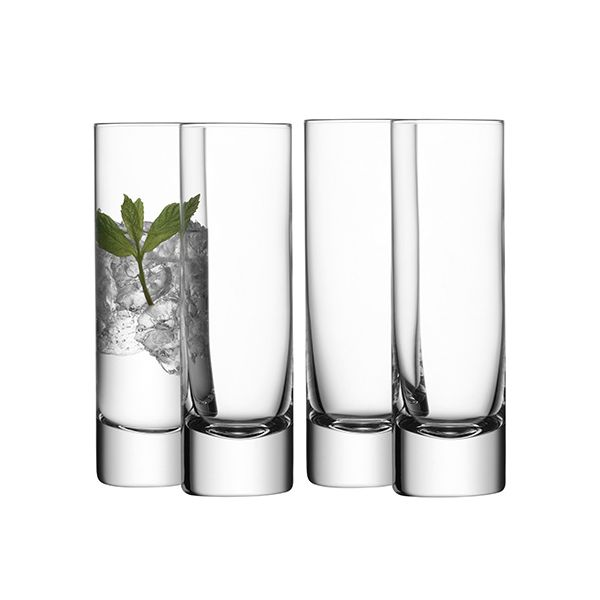 LSA Bar Long Drink Glass Set Of Four