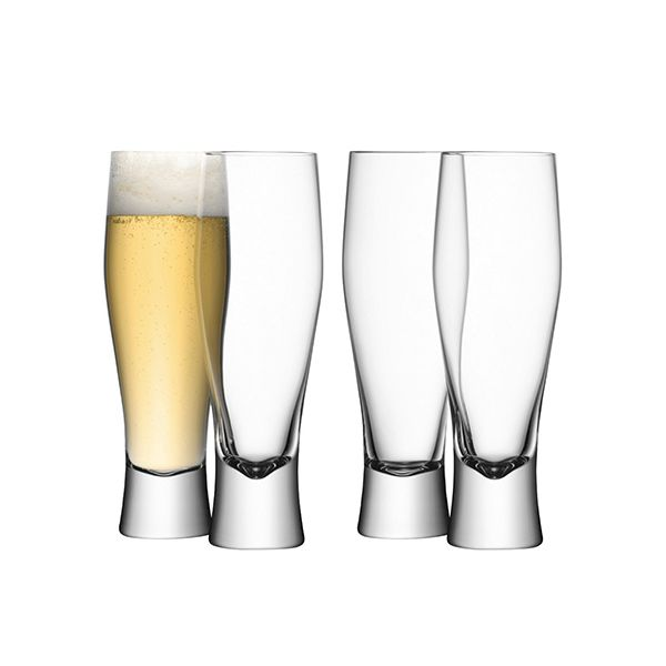 LSA Bar Lager Glass Set Of Four