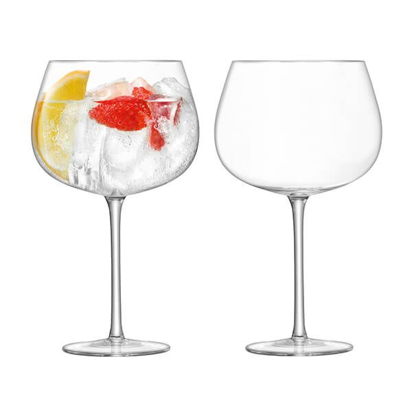 LSA Bar Cocktail Balloon Glass 710ml Clear Set of Two