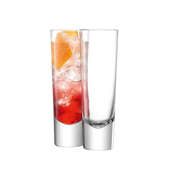 LSA Bar Tall Mixer Glass 310ml Clear Set Of Two