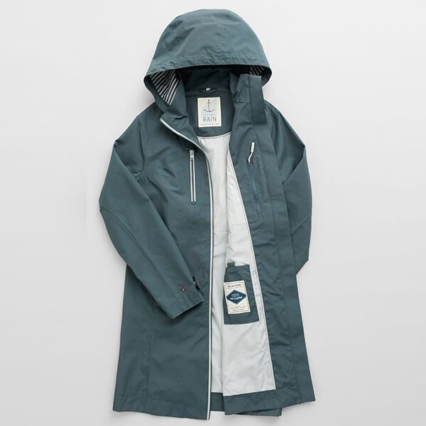 Seasalt Coverack Coat Nickel