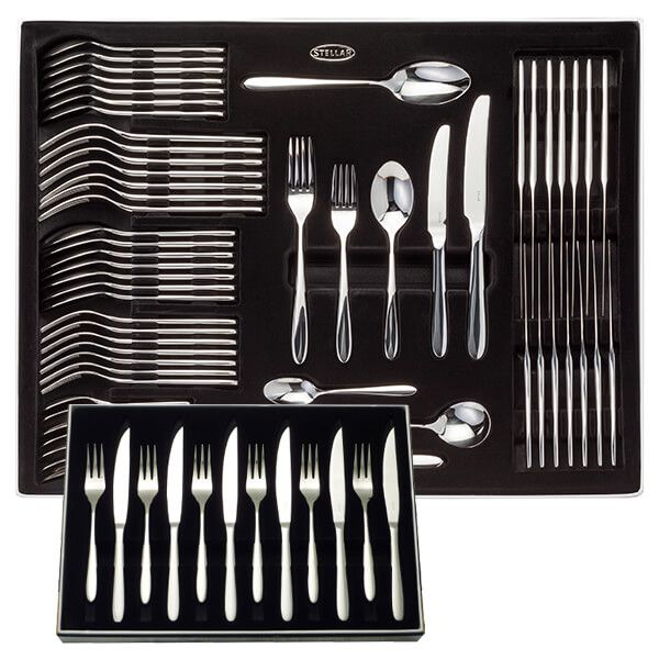 Stellar Winchester 58 Piece Cutlery Gift Box Set with FREE Gift