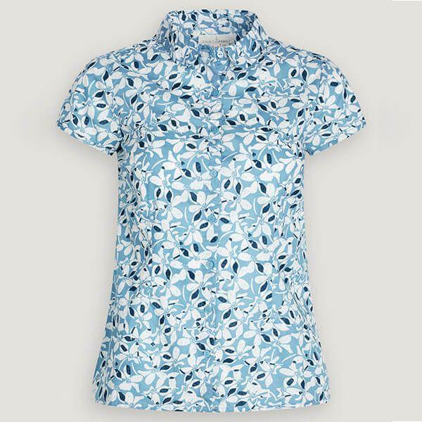 Seasalt Rushmaker Shirt Magnolia Flower Coastline