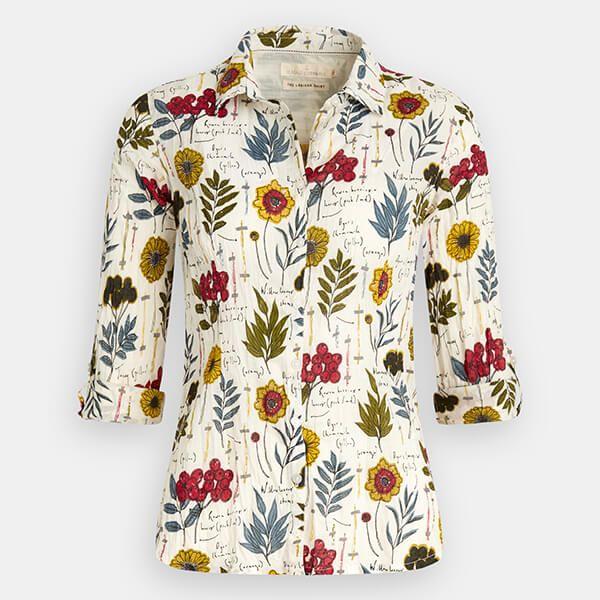 Seasalt Larissa Shirt Dye Plants Creek