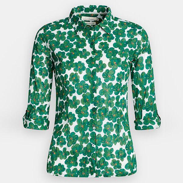 Seasalt Larissa Shirt Geranium Flower Copse