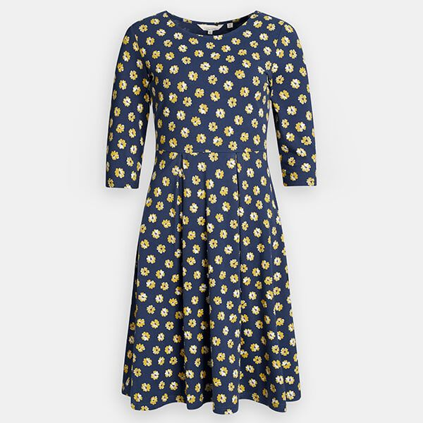 Seasalt The Mouls Dress II Primrose Spot Dune