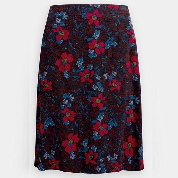 Seasalt Brume Skirt Burnished Blooms Flag